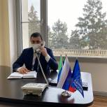 Депутат Хиби Алиев провёл дистанционный прием граждан по личным вопросам