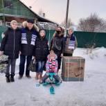 Николай Черкасов исполнил желание 12-летней девочки и подарил ее семье снегокат и стиральную машинку
