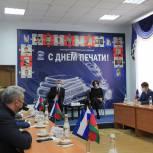 Секретарь регионального отделения «Единой России» Николай Гриценко встретился с кубанскими журналистами