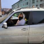 Автоволонтеры продолжают оказывать поддержку мурманским медикам