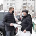Сергей Двойных посетил ветеранов Великой отечественной Войны и вручил им подарки