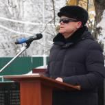 Владимир Вшивцев почтил память павших в боях за освобождение поселка Дорохово