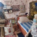 Татьяна Астахова навестила ветерана Великой Отечественной войны