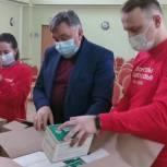 Олег Жолобов передал средства индивидуальной защиты в волонтерский штаб городского округа Домодедово