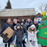 Многодетная семья из Ряжского района получила подарки от депутатов