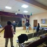 В Щелково сторонники партии организовали тренировку по гимнастике цигун