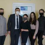Рязанские молодогвардейцы прошли вакцинацию от COVID-19