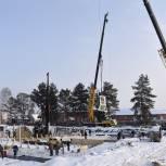 Единороссы контролируют строительство важного соцобъекта в Сасове