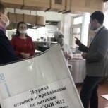 В энгельсских школах и детских садах провели мониторинг горячего питания