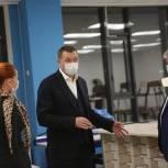 Дмитрий Саблин проверил готовность учебного корпуса школы № 1002 в районе Солнцево
