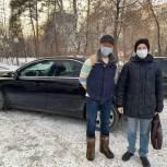 Алексей Салмин помог врачу быстрее добраться до пациентов