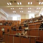Оксана Пушкина приняла участие в лекции-встрече в колледже МГИМО