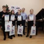 В Вачском районе юные победители конкурса рисунков о малой Родине получили дипломы и подарки