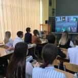 Электрогорские сторонники провели урок профориентации для старшеклассников