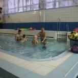 В Егорьевске прошло занятие по плаванию для детей с ограниченными возможностями