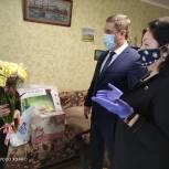 Замсекретаря реготделения «Единой России» поздравила блокадников Ленинграда