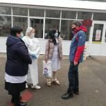 В ковидную больницу Ставрополя доставили партию бесконтактных термометров