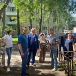 Игорь Шаповалов провел встречу с жителями поселка Летний отдых