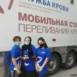 Единороссы Кизляра приняли участие в акции по сдаче крови
