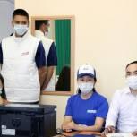 Волонтерский центр единого штаба возобновляет свою работу