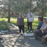 Щелковские единороссы провели встречу с жителями Фряново по вопросам газификации