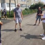 Николай Кузяков проконтролировал ход ремонтных работ в своем округе