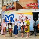 В Сквере белых журавлей был организован праздник