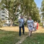 Николай Черкасов поддержал инициативы жителей балашихинского микрорайона 1 Мая