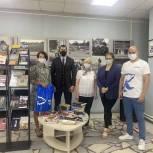 Активисты первичного отделения подарили 435 книг  библиотечному центру для молодёжи