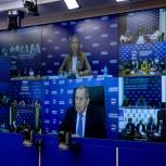 Сергей Лавров: Предвыборная борьба в России проходит в сложных внешних условиях