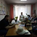 Вячеслав Тарасов обсудил с жителями проекты благоустройства Ленинского района