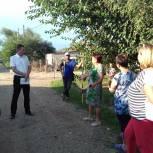 В Абинском районе проходят отчетные встречи депутатов с избирателями