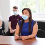 Руководитель Единого волонтерского штаба приняла участие в работе круглого стола по вакцинации