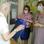 Городищенские единороссы поздравили старейшего члена партии