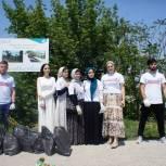 Добровольцы организовали в Грозном экологические акции