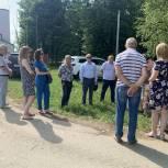 Владимир Вшивцев встретился с жителями Сычево