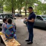 Александр Бондаренко встретился с жителями Ленинского района
