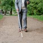 Региональная приемная «Единой России» помогла инвалиду по зрению получить трость