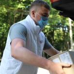 В ковидный госпиталь в селе Слободка Тульской области доставили одноразовую посуду