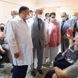 Губернатор Игорь Руденя поручил отремонтировать входную группу и установить пандус в Максатихинской ЦРБ
