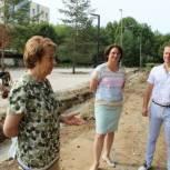 В парке советско-польского братства по оружию обустраивают площадку для музея военной техники