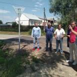 Александр Шевырев в рамках депутатского контроля посетил село Пехлец