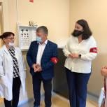 Единороссы оценили оснащенность медицинских кабинетов в детсадах Губкинского