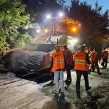 Ремонт автомагистрали на улице Лескова проверила группа «Дорожного контроля»