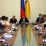 Николай Любимов встретился с депутатами Рязанской областной Думы