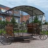 Сквер благоустроили в селе Оёк Иркутского района в рамках партпроекта «Городская среда»