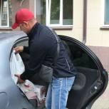 По инициативе «Единой России» центр «Вернись к жизни» получил продуктовую помощь для бездомных людей