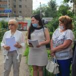 Екатерина Собканюк обсудила с жителями Спичфабрики этапы газификации микрорайона