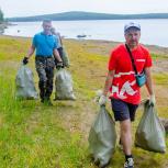 В Качканаре экологи и местное отделение «Единой России» провели субботник