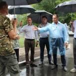 Депутаты Рязанской областной Думы проверили качество ремонта двух дворов в Рязани